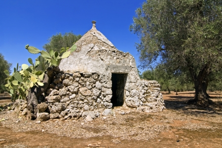 panoramic - view of trullo, puglia photo