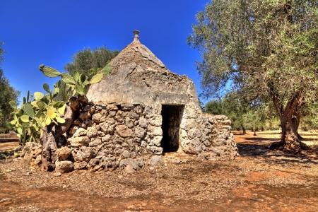 panoramic - view of trullo, puglia