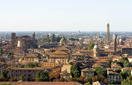 view of bologna - italy Stock Photo