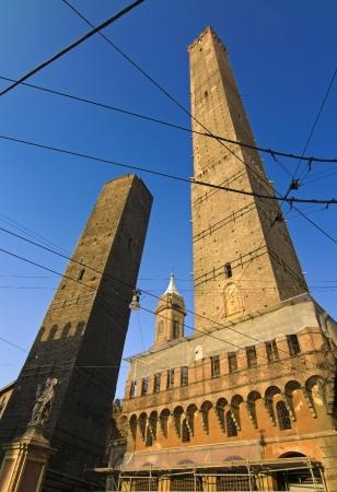Asinelli tower - bologna Archivio Fotografico