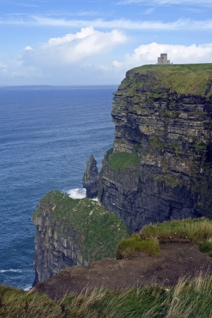 doolin: view of obriens tower - ireland