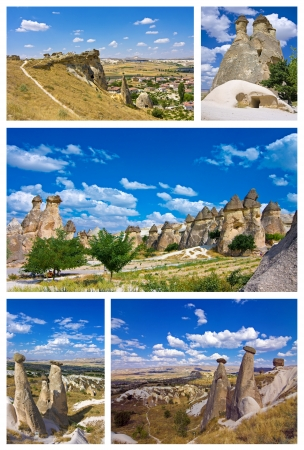 a collage of cappadocia - turkey