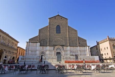 emilia romagna: view of san petronio - bologna, emilia romagna Editorial