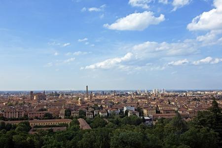 emilia romagna: view of bologna -  emilia romagna, italy Stock Photo