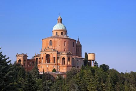 view of san luca - bologna, italy