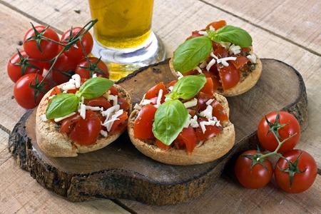 Italian starter friselle - puglia, italy Reklamní fotografie