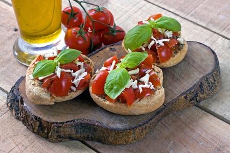 starter: Italian starter friselle - puglia, italy Stock Photo