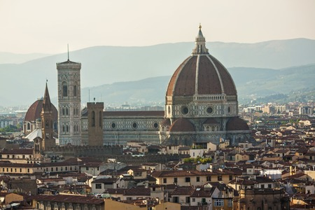 Panoramic view of Duomo - Florence, italy - tuscany