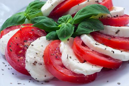 caprese - italian food with background