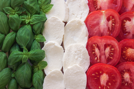 caprese - italian food with background