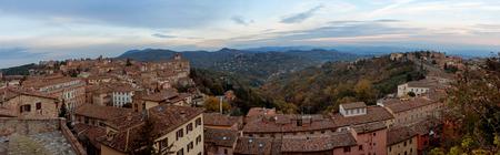 priori: Panoramic view of Perugia - Italy, umbria
