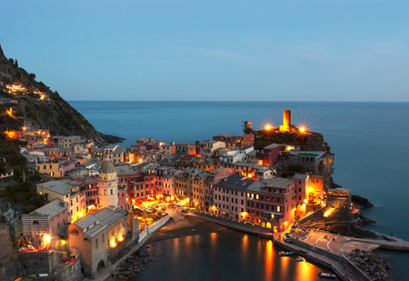 view of Vernazza - cinque terre, Liguria - Italy Reklamní fotografie