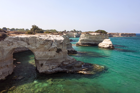 Panoramic view of Sant Andrea - Italy, Puglia