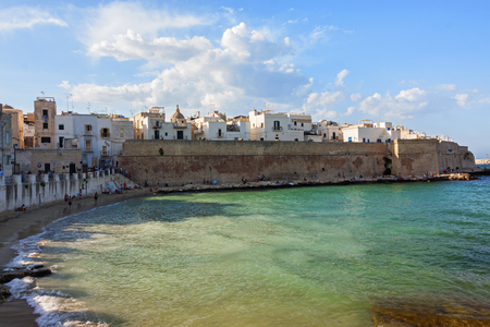 Panoramic view of Monopoli - Italy, Puglia Editorial
