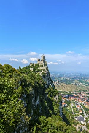 Panoramic view of San Marino - Rocca della Guaita