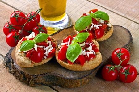 Italian starter friselle - italian food