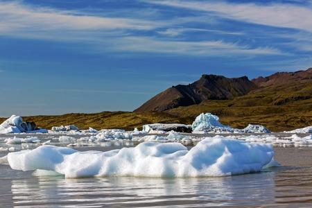 Die Gletscherlagune Jökulsárlón in Island - Island