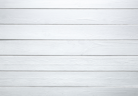 White wooden wall texture background. Wood pine plank white texture background 写真素材
