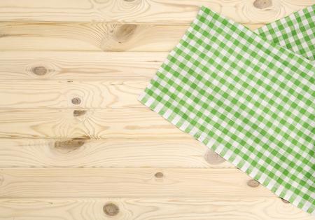 checkered tablecloth: Green checkered tablecloth vor texture or background