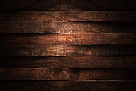 暗い木目のテクスチャ。背景暗い古い木製パネル。 写真素材