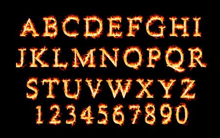 fiery: Fiery font