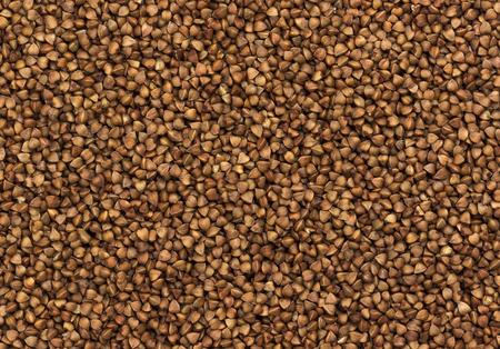 Buckwheat grain texture