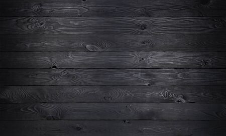 검은 나무 배경, 오래 된 나무 판자 질감