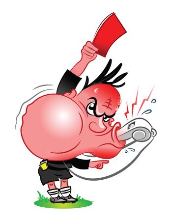 referee: referee Illustration