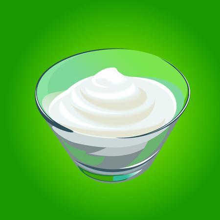 sour cream: sour cream