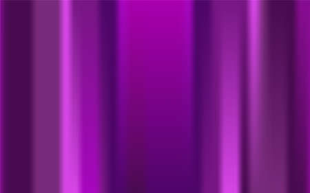 Color abstract blurred lines background. Pink, purple, violet gradient random stripes, spots. Paint marks, bokeh effect, curtain, scene. Copy space striped banner. Vector mesh template illustration