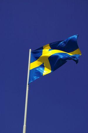 bandera de suecia: Bandera de Suecia