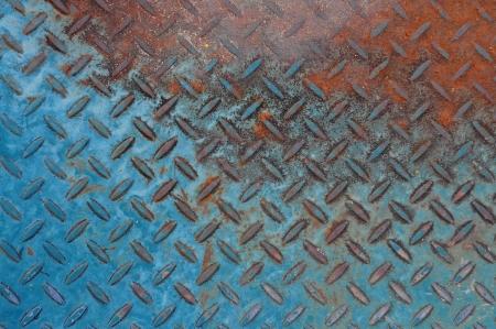 colorful rusty metal texture - grunge old texture metallic photo