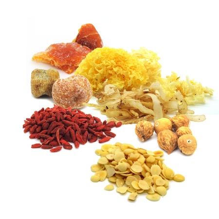 legumbres secas: Las hierbas chinas