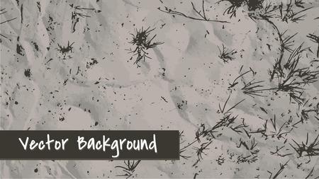 piasek: Piasek tła. Niektóre trawy na piasku. Ilustracji wektorowych.