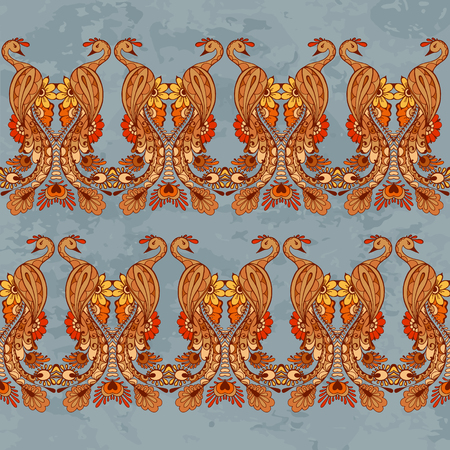 peacock butterfly: Peacock on the blue background. Pattern for your design wallpapers, web page backgrounds, surface textures.