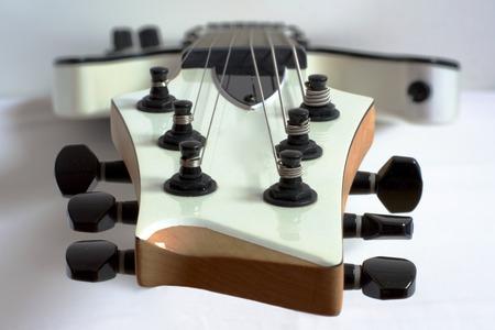 Guitar head photo