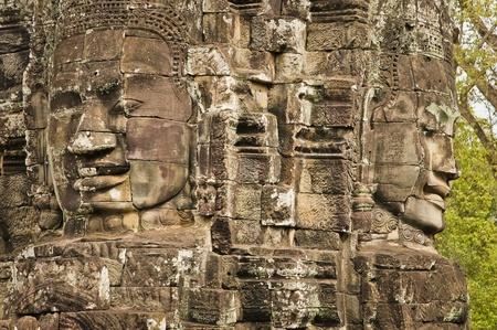 Angkor au Cambodge Banque d'images - 13491684