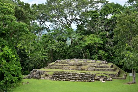 Archaeological zone of the Mayan culture, in the state of Chiapas, Mexico