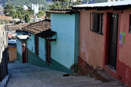Details of the city of San Cristobal de Las Casas, in Chiapas