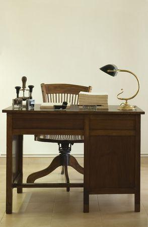 antica scrivania  Archivio Fotografico