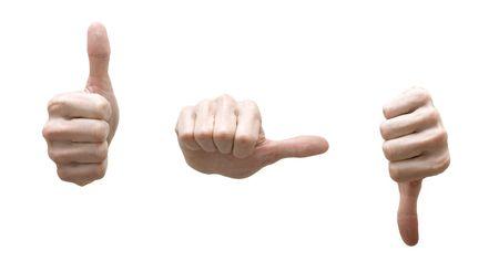 conceptual hands Stock Photo - 7753556