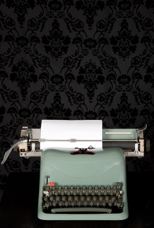 vintage typewriter on an ancient background Stock Photo - 12173701