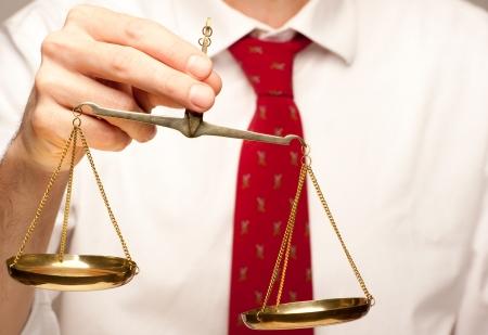 balanza justicia: la celebraci�n de escala justicia