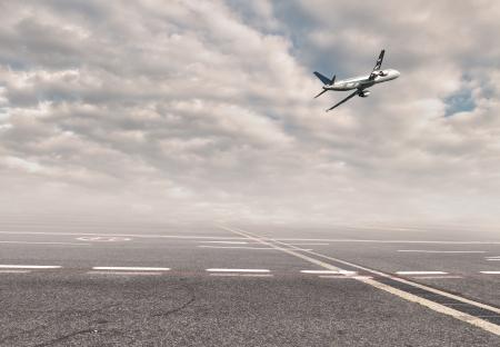 aereo in aeroporto