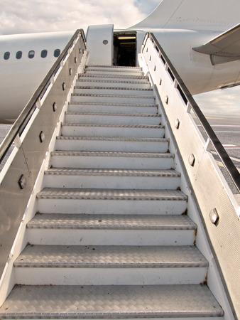 empty moving ramp Standard-Bild