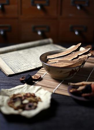 Chinese herbal medicine Reklamní fotografie