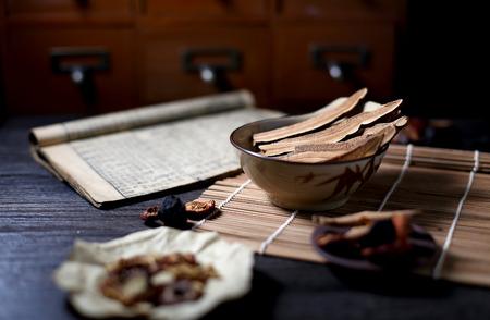 Chinese herbal medicine 스톡 콘텐츠