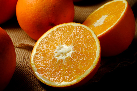 navel orange: Orange
