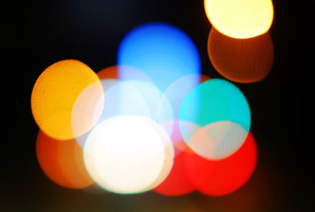 abstracted: Bokeh lights Stock Photo