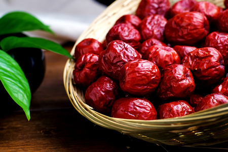Red dates Stock Photo